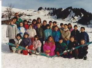 CM 1989-1990-Classe de neige